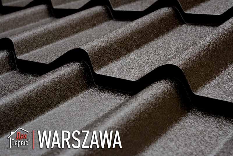 Металочерепиця Warszawa